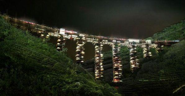 жилой мост-дом