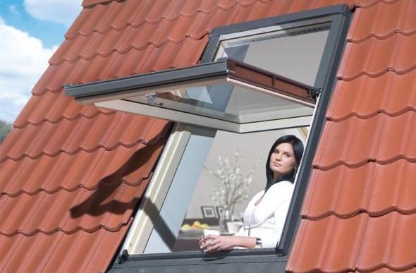 Мансардный окна
