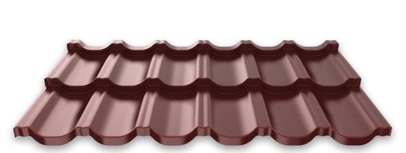 Установка крыши из металлочерепицы