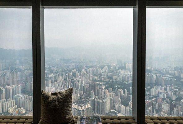 Отель Ritz Carlton в Гонконге   (2)